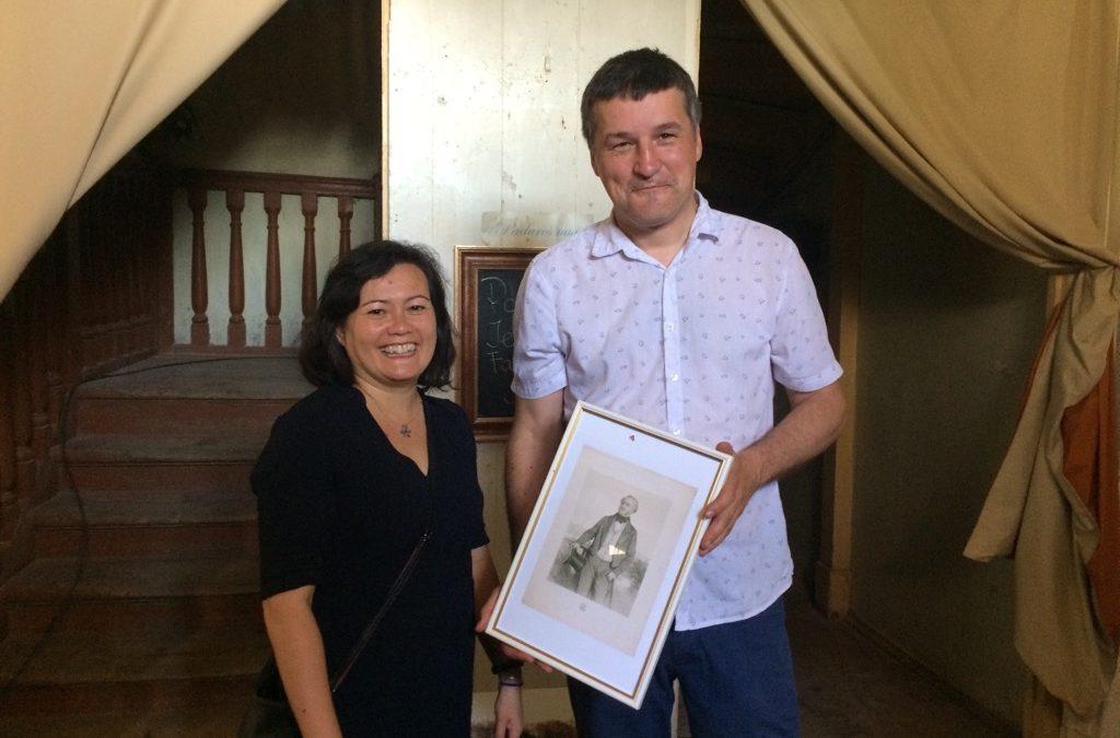 Present from British Ambassador to Latvia